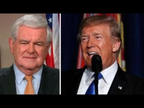Gingrich: Trump's Afghanistan speech was courageous