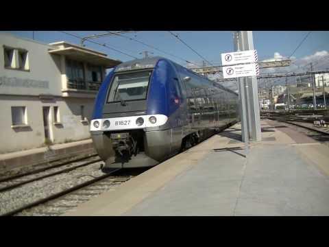 Train à Marseille St Charles,le lundi 27 Mars 2017