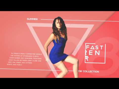 Fashion Promo Slideshow - After Effects Template