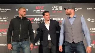 Alexander Gustafsson vs. Jan Blachowicz Faceoff