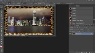 Photoshop :how To Create A Frame For A Picture