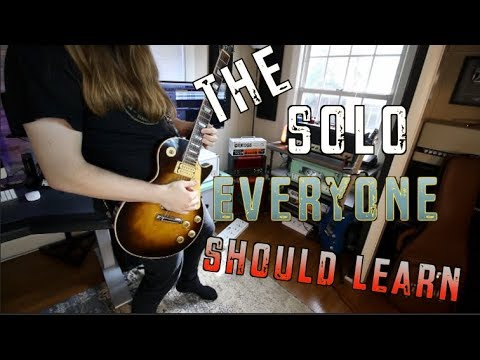The Solo Every Guitarist Should Learn and How To Play It