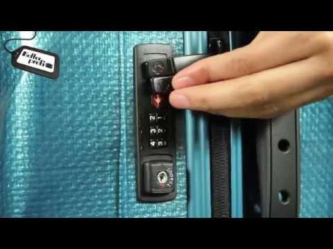 Inställning av TSA-lås
