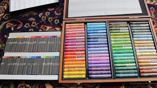 Pentel Artist and Mungyo Gallery Soft Oil Pastels FULL SET Unboxing Review