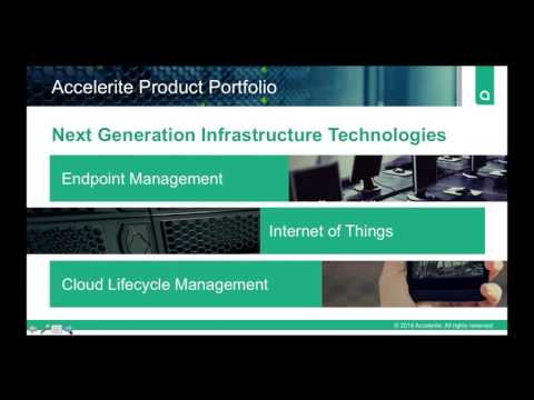 Webinar on Accelerite CloudPlatform & CloudPortal Business Manager   Europe