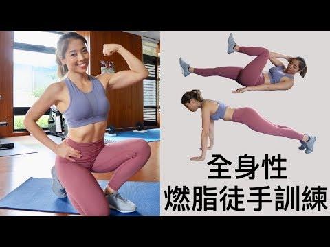 Home Workout 全身性燃脂|徒手爆汗訓練