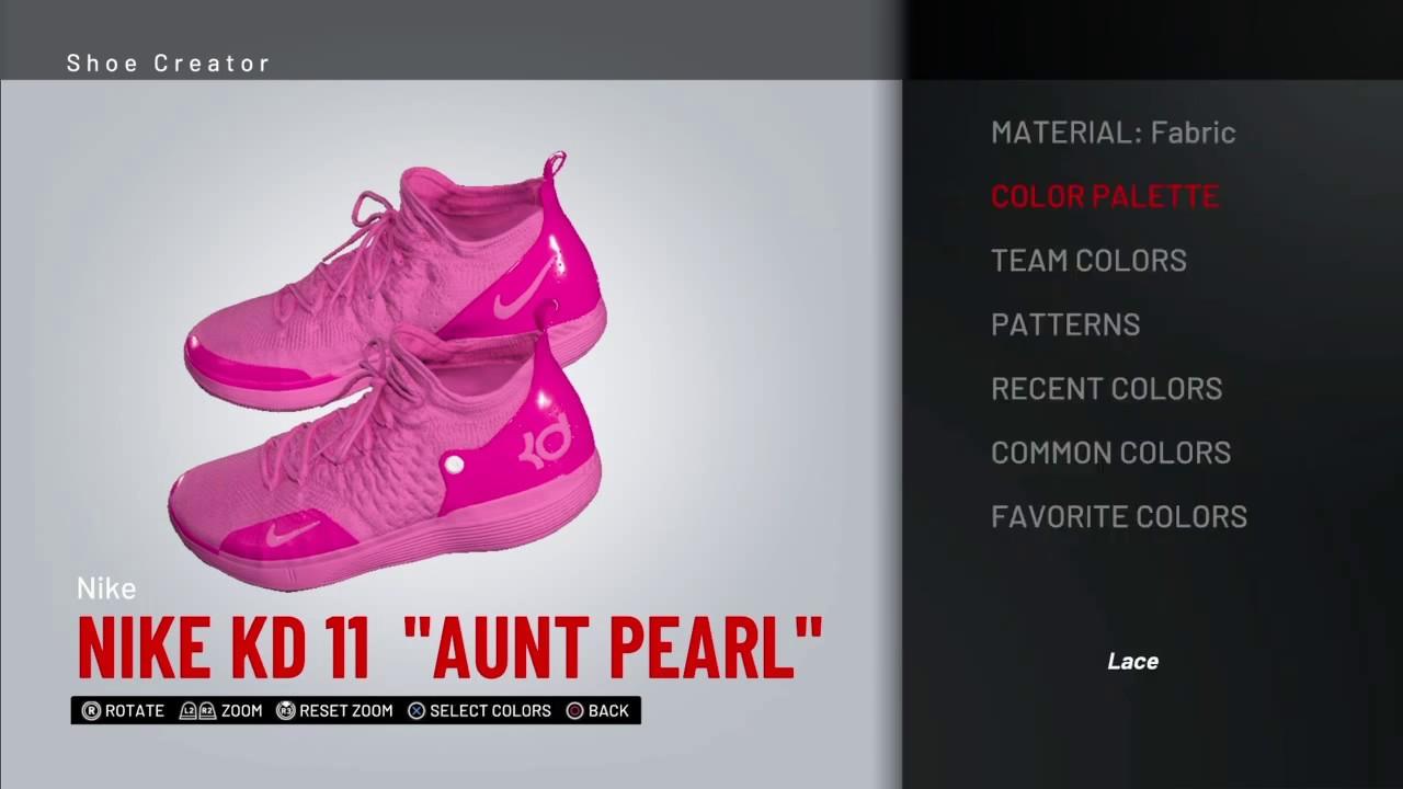 15f13733e54 NBA 2K19 Shoe creator *#NBA2K19* KD 11