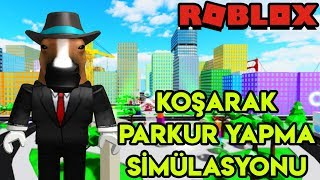 👟 Running Track Simulation Simulation 👟 | Parkour Simulator X | Roblox English