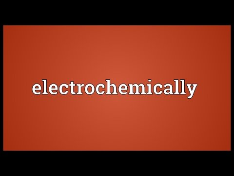 Header of electrochemically