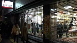旭屋書店本店閉店(店長挨拶).wmv