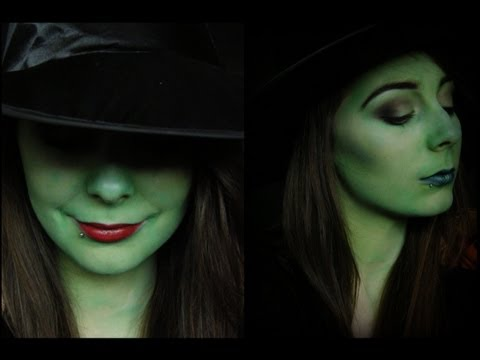 Wicked: Elphaba Makeup