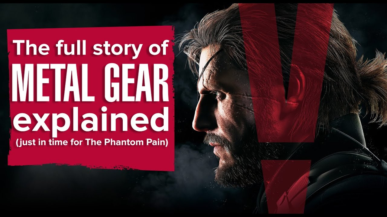 The Phantom Pain is unlike other Metal Gear games