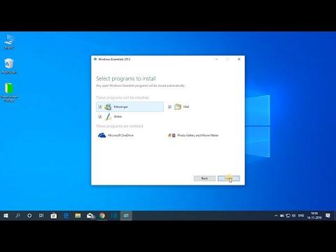 How To Install Windows Essentials On Windows 10