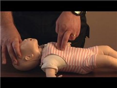 First Aid : CPR Chest Compressions for Infants