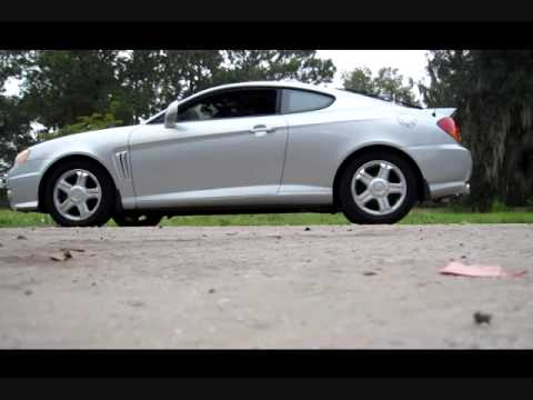 Tiburon GT V6 K&N Cold Air Intake & Custom Exhaust Vids & Pics