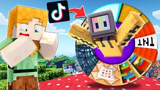 NEW VIRAL TIK TOK HACKS THAT ACTUALLY WORK | MINECRAFT