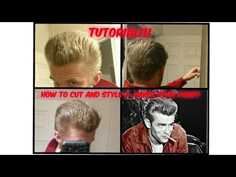 How to Cut and Style a James Dean Pomp!