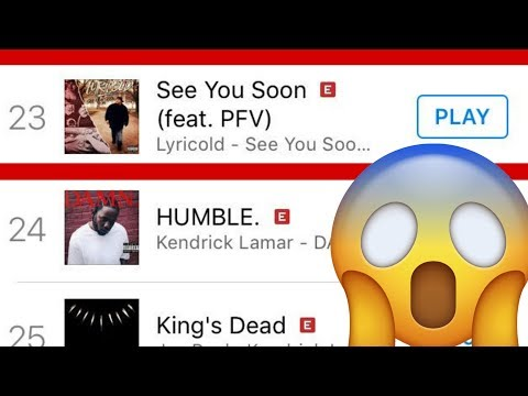 SEE YOU SOON HITS THE ITUNES CHARTS! THIS IS HUGE!