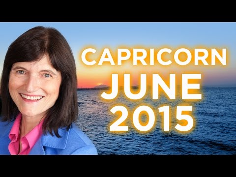 CAPRICORN April 2015 - Astrology Forecast - Barbara Goldsmith from YouTube · Duration:  8 minutes 42 seconds