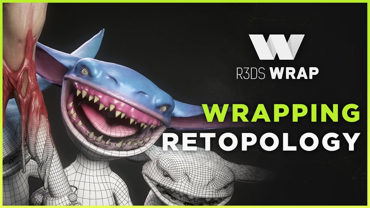 Download Fast retopology with R3DS Wrap