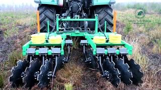 Nowa leśna brona do pielęgnacji upraw