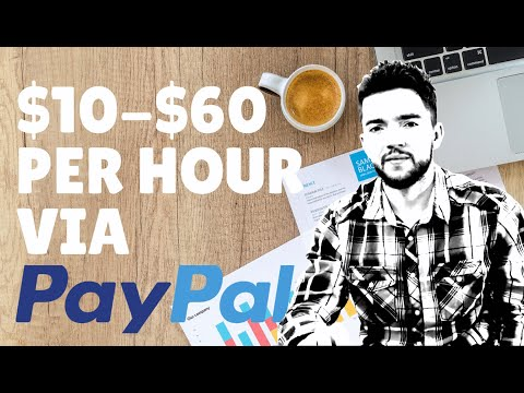 6 Side Jobs to Make Money Online via PayPal 2020