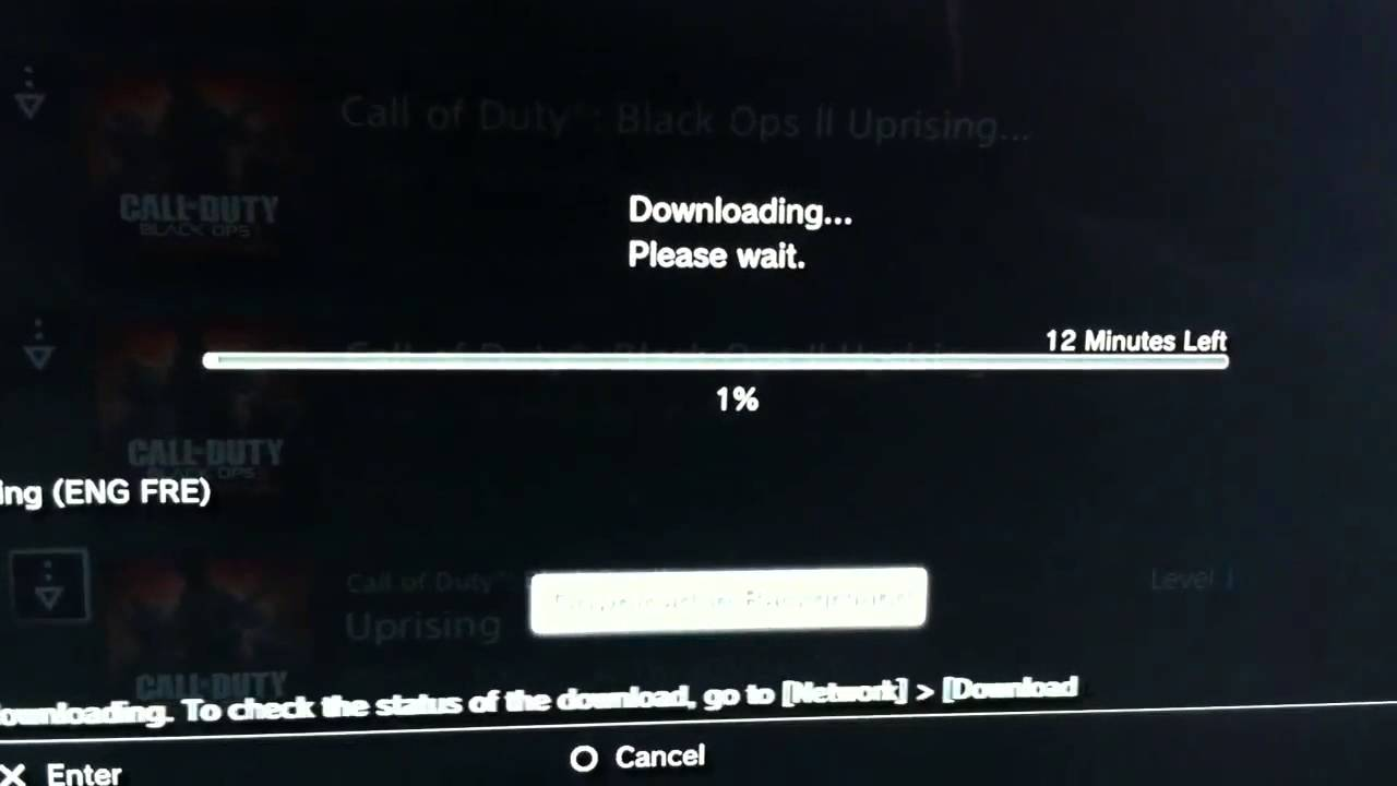 Black ops 2 uprising ps3 download from ps store youtube.