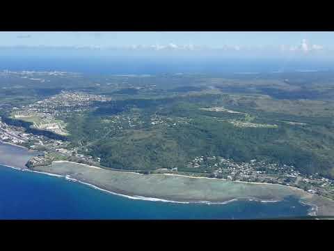 #An124 visual approach Guam USA