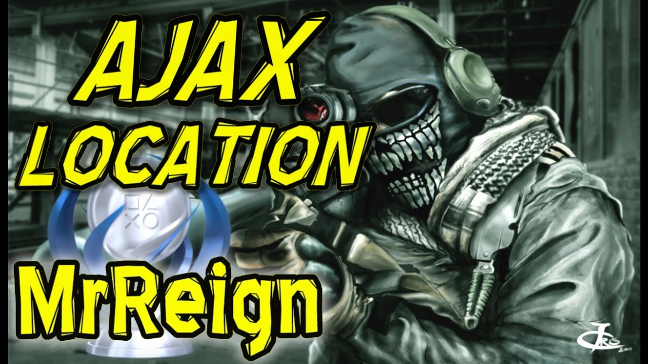 Call Of Duty Ghosts Ajax Location Through Remote Sniper Struck