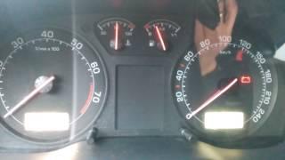 Уровень газа в штатную приборную панель Skoda Octavia Tour
