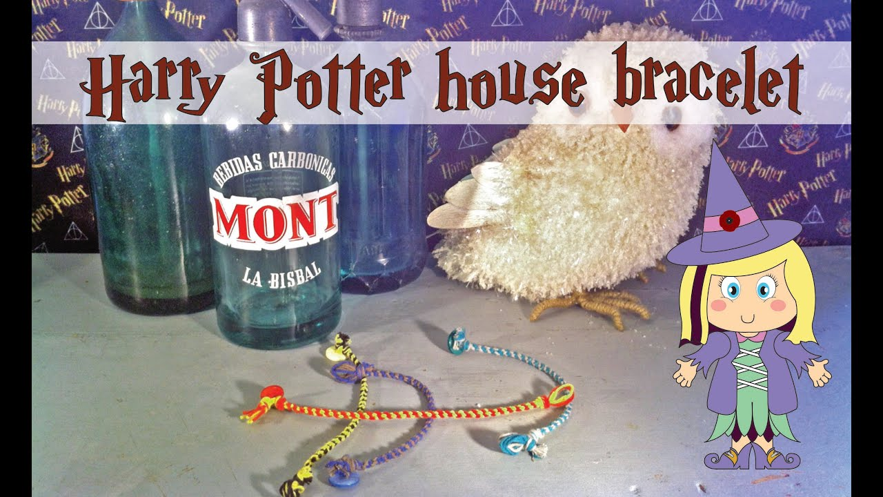 harry watch potter printable bracelet house free kumihimo disk diy