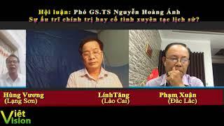 Phó GS.TS Nguyễn Hoàng Ánh, sự ấu trĩ chính trị hay cố tình xuyên tạc lịch sử?