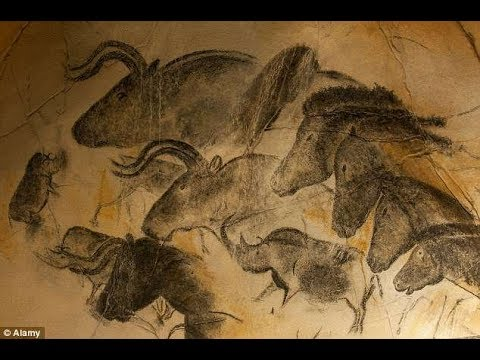 An explosion in Ice Age art around 30,000...