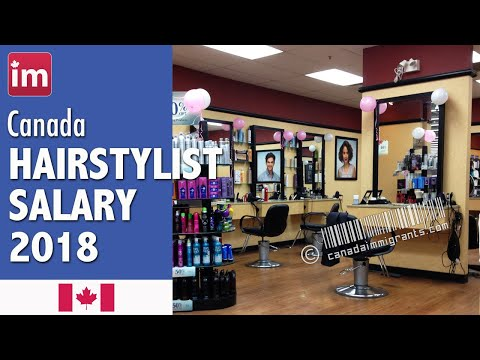 Hair Stylist Salary In Canada (2018) - Wages In Canada