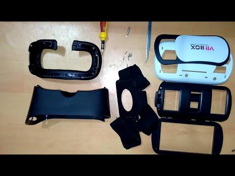 VR Box 2.0 reverse Tear down