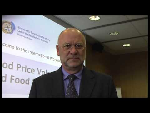 Food Price Volatility Workshop 2013: David Hallam, FAO