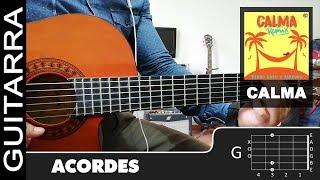 """Baixar Como tocar """"Calma (Remix)"""" de Pedro Capó, Farruko en Guitarra - Tutorial (HD) ACORDES"""