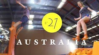 Trampolin springen in Sydney! Geil! AUSTRALIEN - LESS WORK / MORE TRAVEL