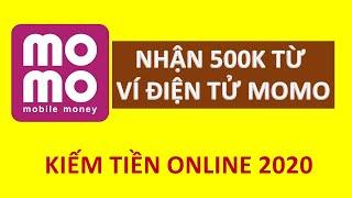 Hướng dẫn đăng ký ví momo nhận 500K MIỄN PHÍ
