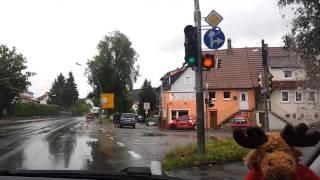 Fahrprüfung 09.07.2014 (anspruchsvoll)