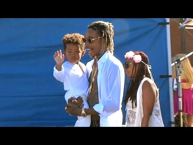 Wiz Khalifa Brings Adorable Son Sebastian To Teen Choice Awards