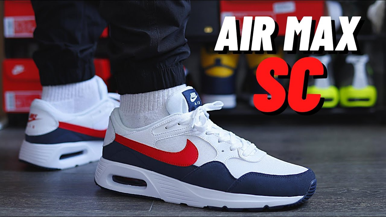 BEST AIR MAX UNDER £100? Nike AIR MAX SC On Foot Review