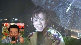 開始から30分後にゲリラ豪雨で中止となった隅田川花火大会を生中継し...