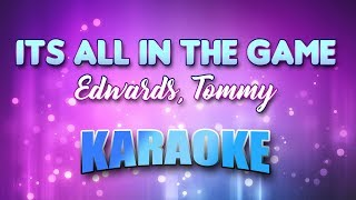 Edwards, Tommy - Its All In The Game (Karaoke & Lyrics)