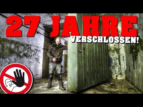 LOST PLACE: BUNKER Erstbefahrung! | urbex - abandoned place - lost place