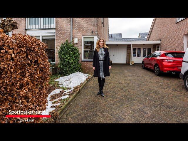 Nieuw in de verkoop: Sportparkstraat 66 te Etten-Leur