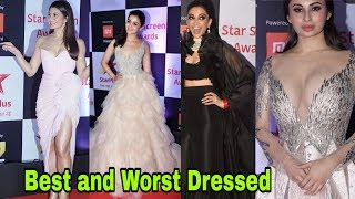 best and worst dressed at star screen awards