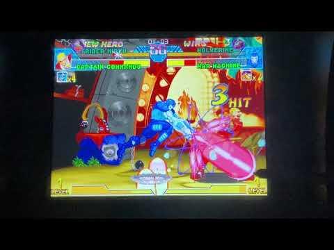ARCADE1up - MvC1: rev420 & Player5286 Vs. Morphus56K - Broken Joystick Edition from Daniel Rivera