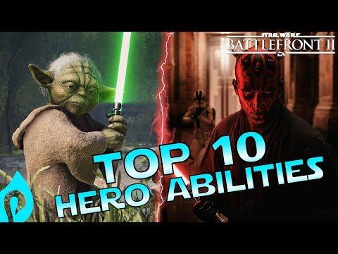 Top 10 Hero Powers In Star Wars Battlefront 2