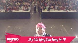 Sky Hát Tặng Sơn Tùng M-TP Tại Buổi Fan Meeting Thái Bình